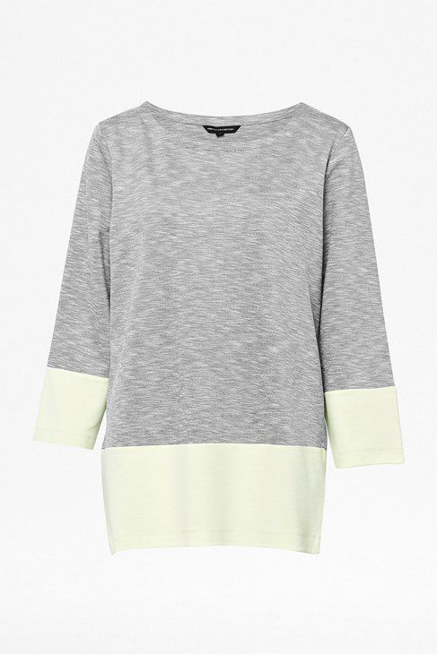 Tudy top long sleeve round neck top
