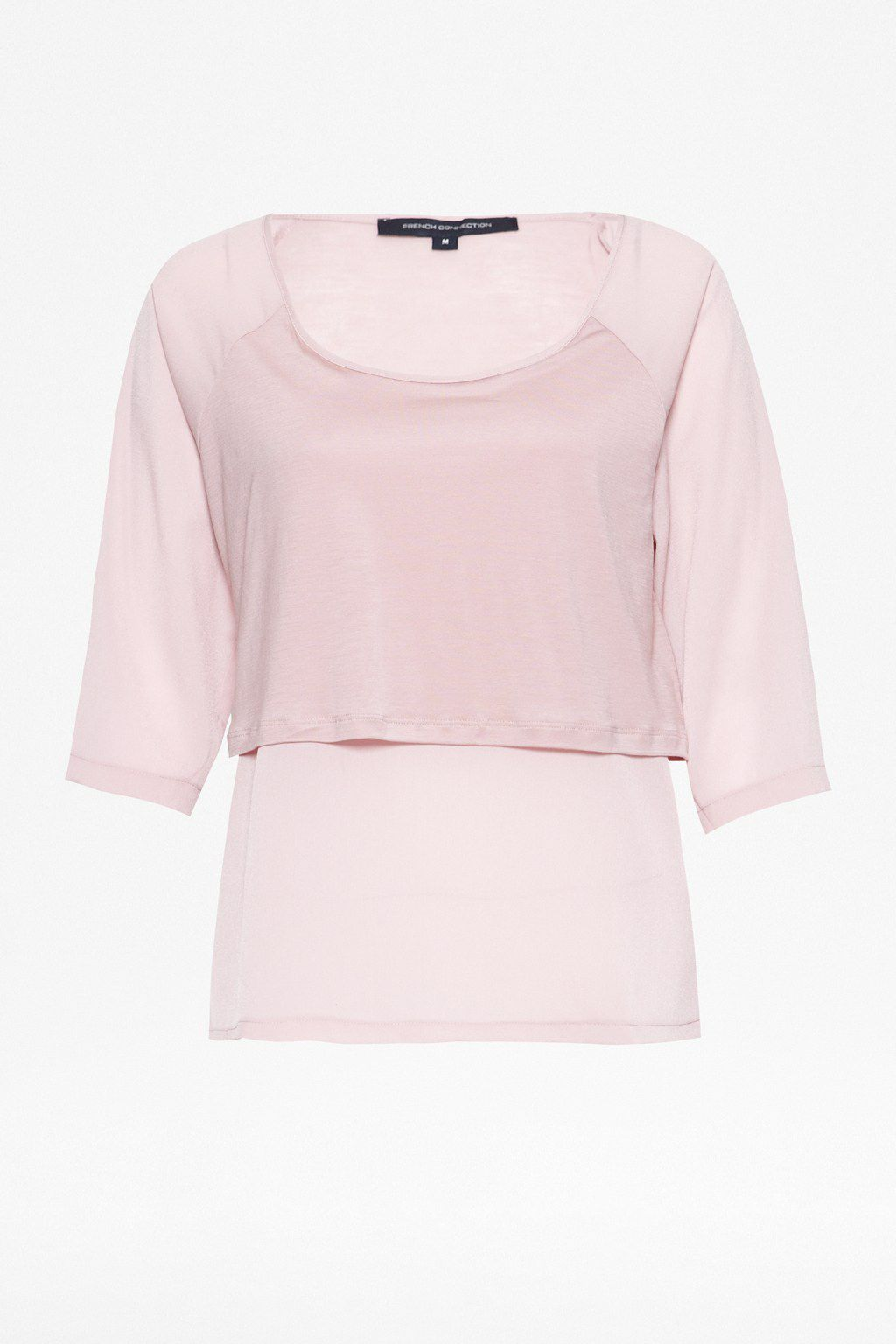 Classic polly plains layered top