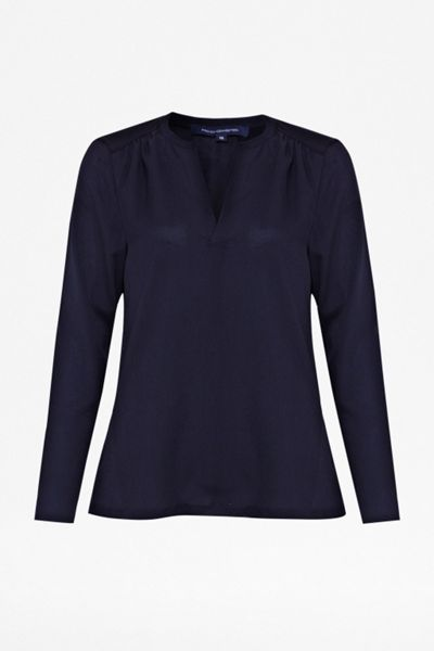 French Connection Classic polly plains shirt