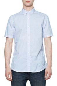 French Connection Lightweight Oxford Short Sleeve Shirt