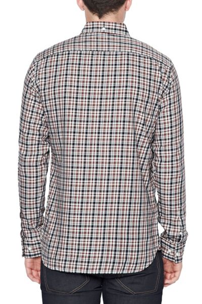 French Connection Lifeline Check Slim Fit Long Sleeve Shirt