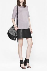 Classic polly plains collared top