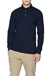 French Connection Brunswick Long Sleeved Polo Shirt