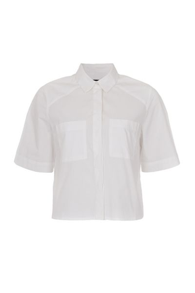 French Connection Fast Penelope Poplin Cotton Shirt
