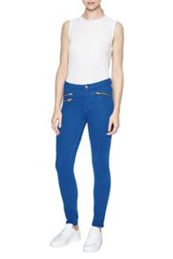 French Connection Lilly Denim Zip Skinny Jean