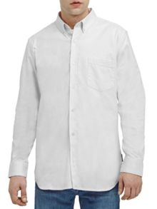 French Connection Co Washed Oxford Shirt