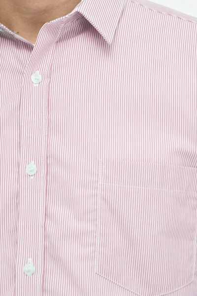 French Connection Co Micro Stripe Shirt