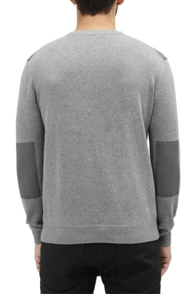 French Connection Nylon Trim Crew Neck Jumper