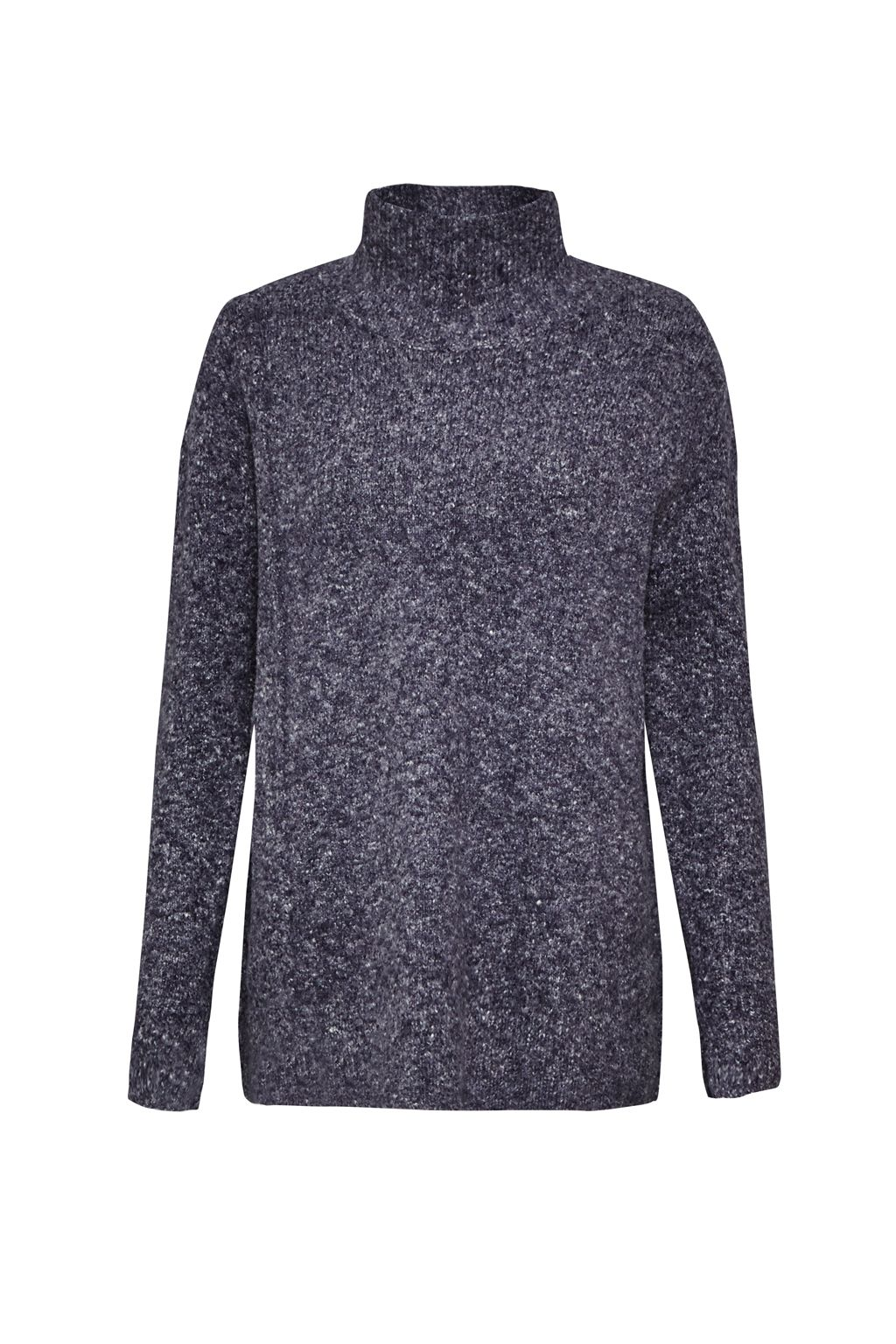 French Connection Autumn RSVP High Neck Jumper Blue
