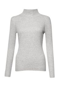 French Connection Bambino Rib V Neck Jumper