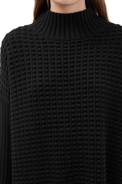 French Connection Mozart Popcorn High Neck Jumper