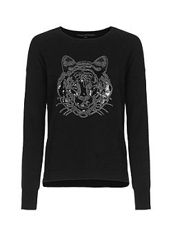 Animal Knits Tiger Jumper