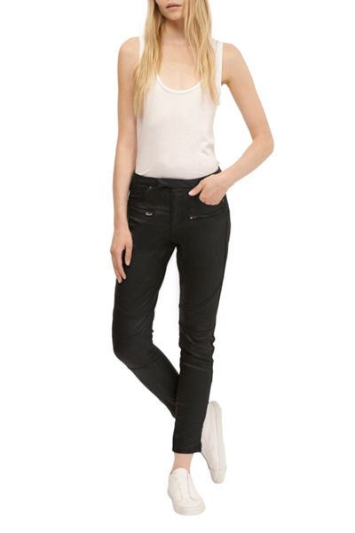French Connection The Rebound Skinny Leather Look Jeans