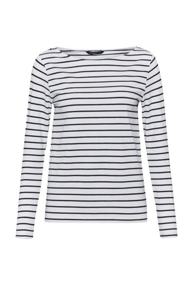 French Connection Tim Tim Long Sleeve Striped Top