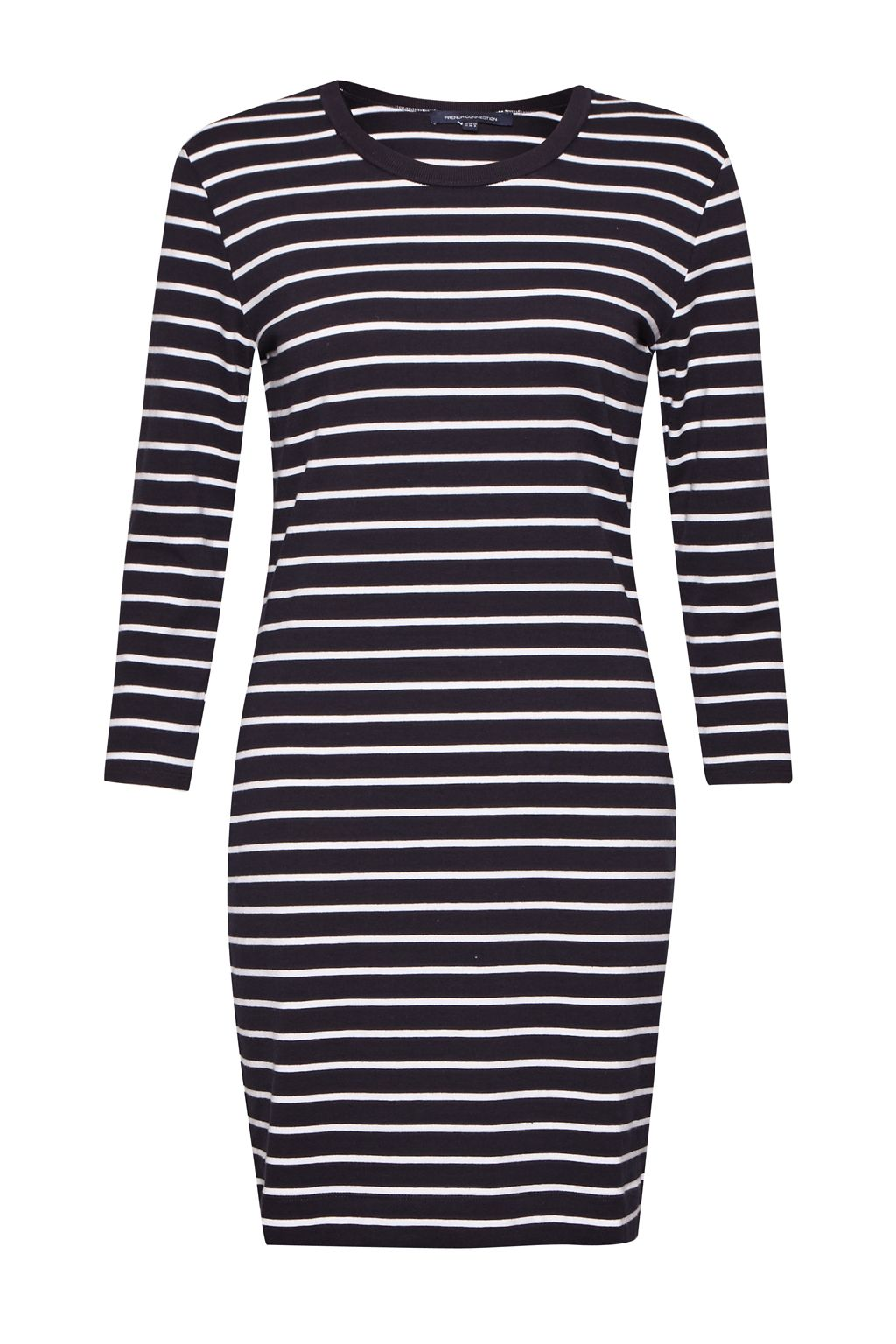 French Connection Tim Tim Striped Dress, Blue