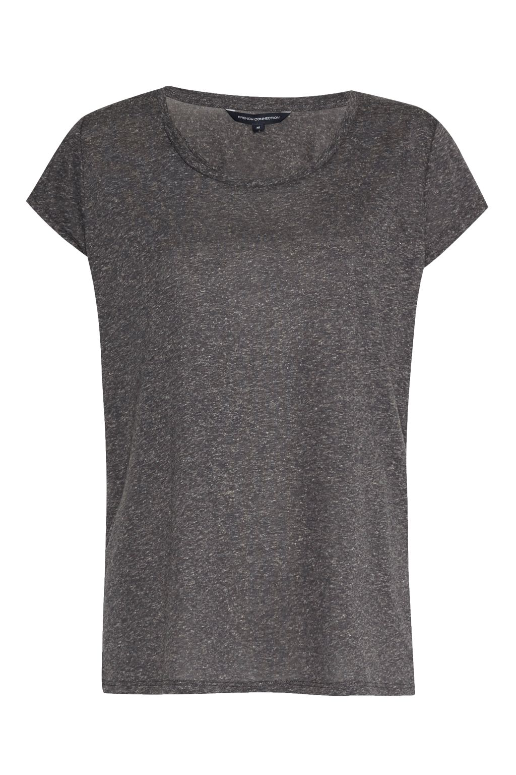 French Connection Hetty Marl T-Shirt, Grey