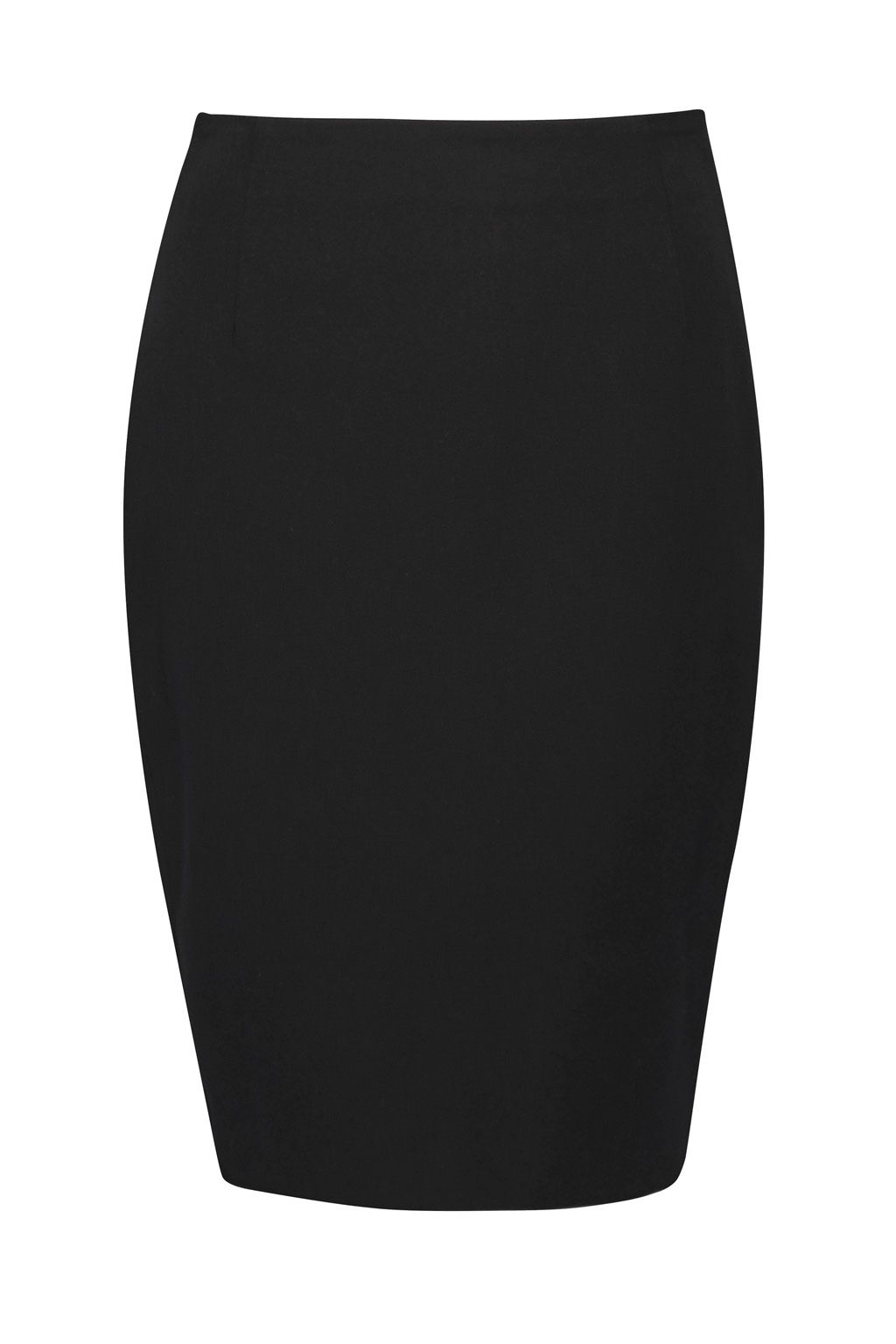 French Connection Street Twill Pencil Short Skirt, Black