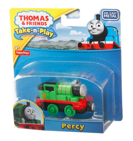 Thomas the Tank Engine Take-n-Play Percy Engine