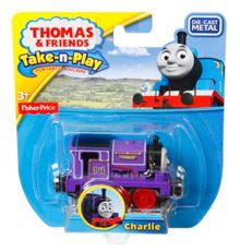 Thomas the Tank Engine Take-n-Play - Diecast Charlie