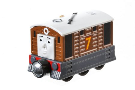 Fisher Price Thomas & Friends Take-n-Play Toby Engine