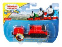 Fisher Price Thomas Take-n-Play Diecast James