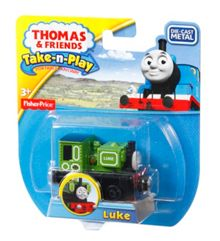 Thomas the Tank Engine Take-n-Play Luke Engine