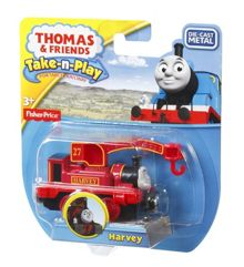 Thomas the Tank Engine Take-n-Play - Diecast Harvey