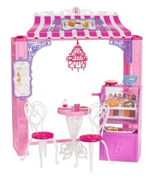 Barbie Malibu Avenue Cafe