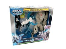 Max Steel Mega Attack Air Elementor Figures