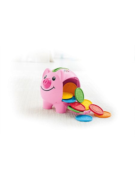 Fisher price laugh learn count learn piggy bank house of fraser - Counting piggy bank ...