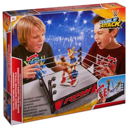 WWE Double Attack Total Control Playset