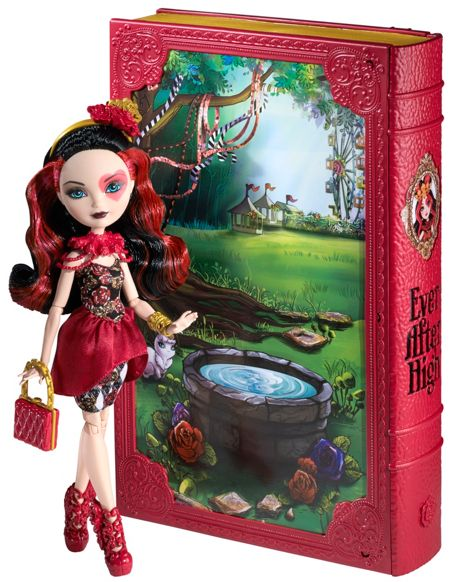 Ever After High Lizzie Hearts Spring Unsprung Book