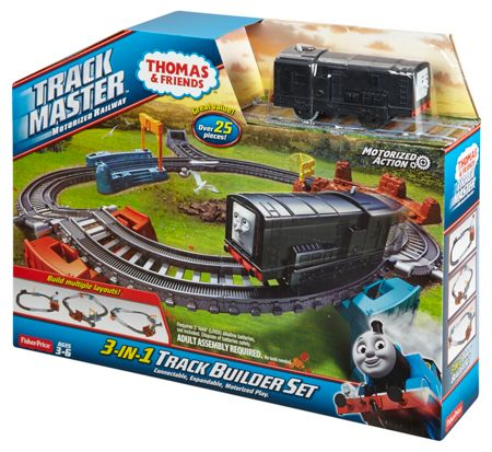 Thomas the Tank Engine TrackMaster 3-in-1 Track Builder Set