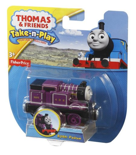 Thomas the Tank Engine Take-N-Play Diecast Ryan Engine