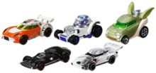 Star Wars Character Car 5 Pack