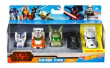 Hot Wheels Star Wars Character Car 5 Pack
