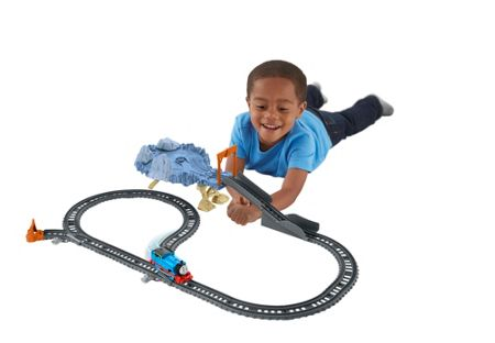 Thomas the Tank Engine Trackmaster Close Call Cliff Playset