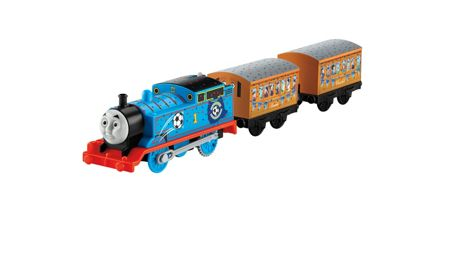 Thomas the Tank Engine Trackmaster Red V Blue Motorised Engine