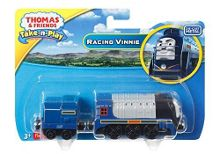 Fisher Price Die-Cast Racing Vinnie Engine