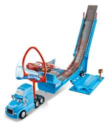 Disney Cars Drop & Jump Gray Transporter Playset