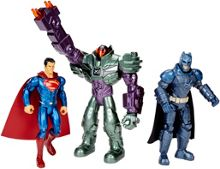 Batman V Superman Batman, Superman & Lex Luthor Figures