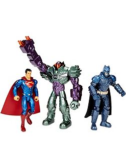Batman, Superman & Lex Luthor Figures