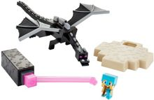 Minecraft The End Playset - Ender Dragon Vs. Steve