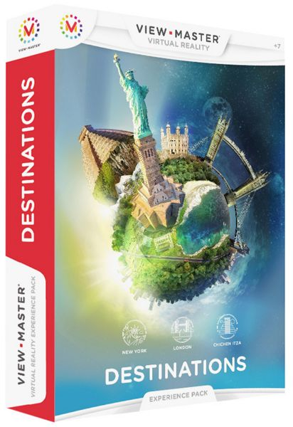 View-Master Virtual Reality Destinations Pack