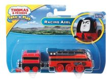 Fisher Price Die-Cast Racing Axel Engine