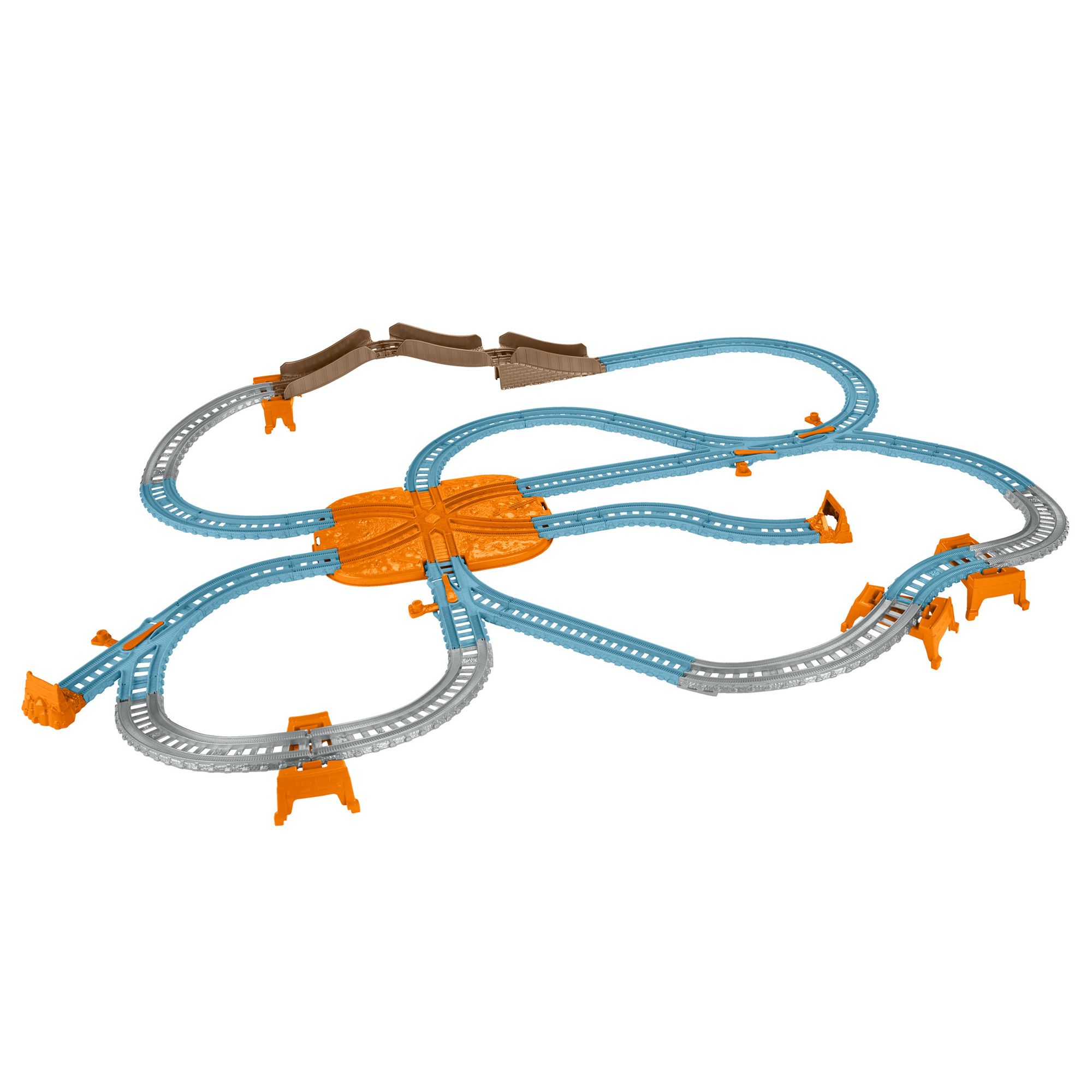 Image of Thomas & Friends Trackmaster Blue Mountain Track Bucket, Blue