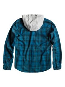 Boys wildhorn hooded shirt