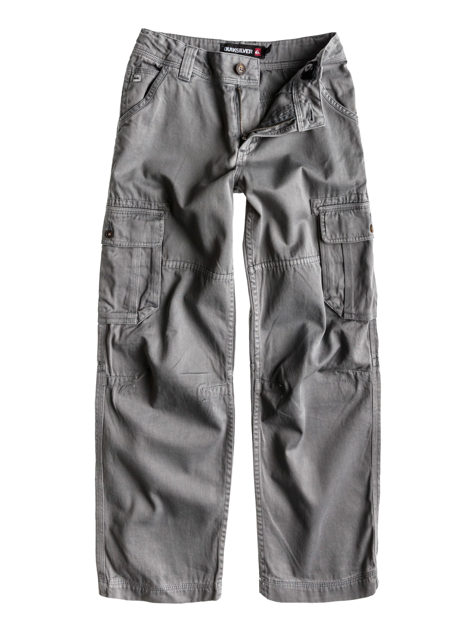 Boys fray cargo trousers