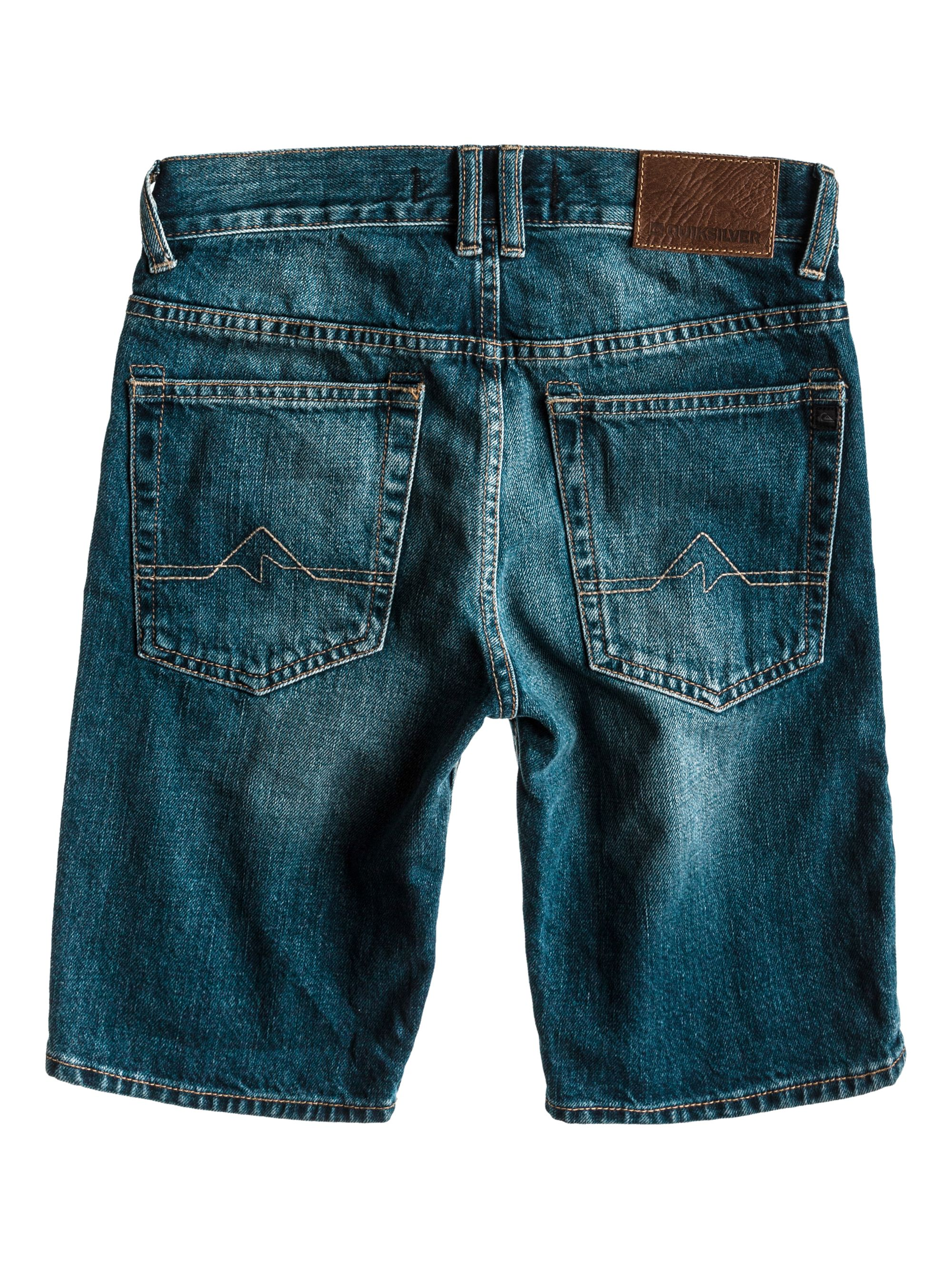 Boys matt ador denim short jeans