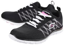 Skechers Flex appeal something fun trainers